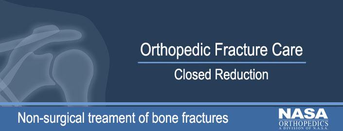 Closed Reduction of a Fractured Bone | Orthopedic Fracture Car NASA MRI